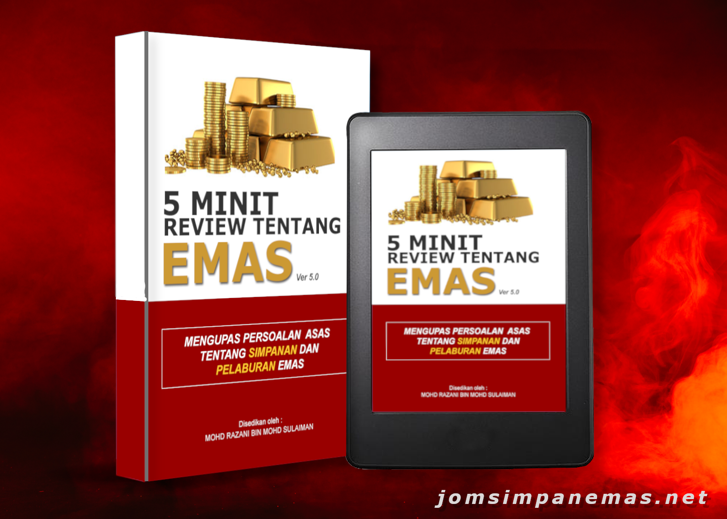 5 minit review ebook cover