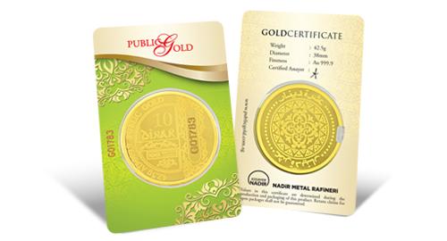 Jom Simpan Emas Public Gold 10 Dinar
