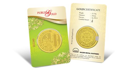 Jom Simpan Emas Public Gold 5 Dinar