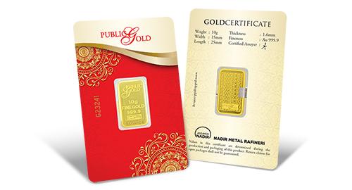 Jom Simpan Emas Public Gold Goldbar LBMA 10g