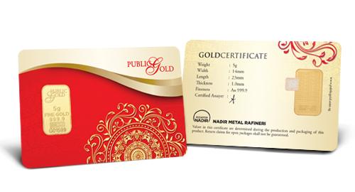 Jom Simpan Emas Public Gold Goldbar LBMA 5g